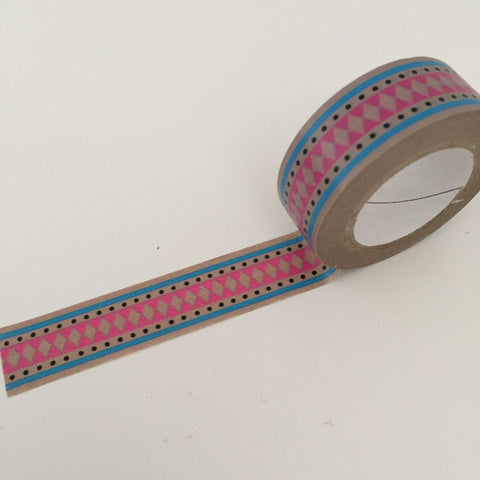 Dovecraft Washi Tape - Diamonds & Dots