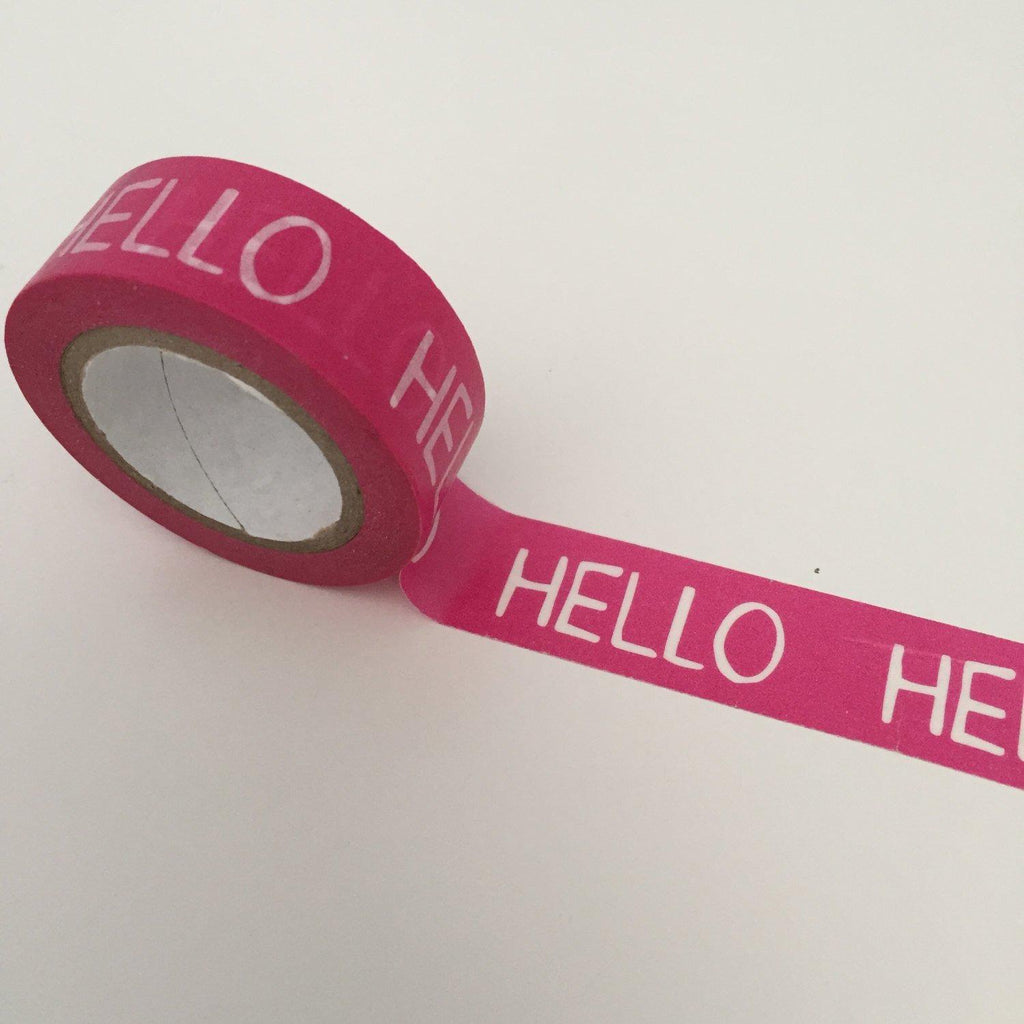 Dovecraft Washi Tape - Hello Pink