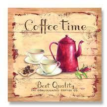 Decoupage Napkin - Coffee Company