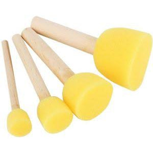 Pouncer sponge brush set