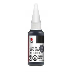 Marabu Alcohol Ink - Black (20ml)