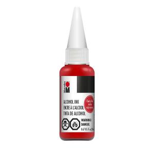 Marabu Alcohol Ink - Cherry Red (20ml)