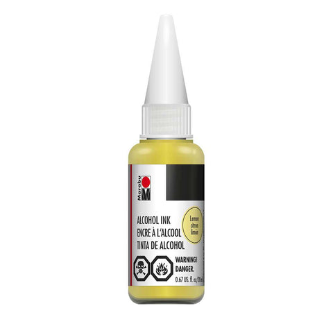 Marabu Alcohol Ink - Lemon (20ml)