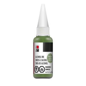 Marabu Alcohol Ink - Olive Green (20ml)