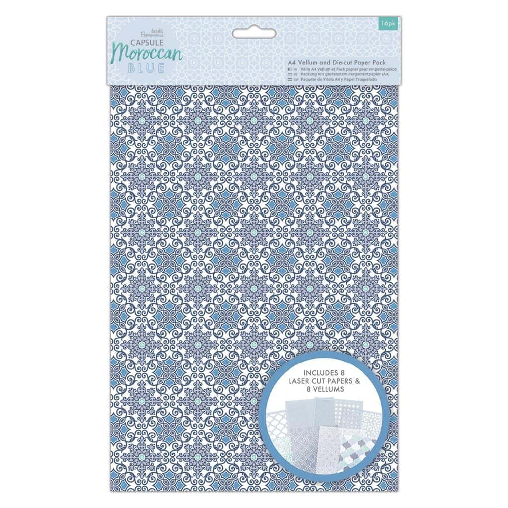 Papermania A4 Vellum and Laser Cut Paper Pack