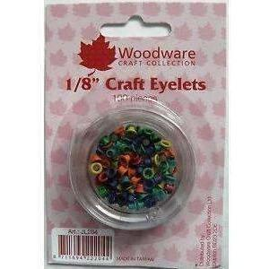 "1/18"" Woodware eyelets - Primary colors"