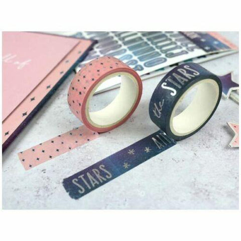 Dovecraft Washi Tape - Time To Shine Every Day