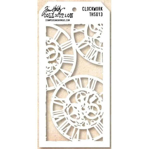 Tim Holtz Layered Stencil - Clockwork Stencils