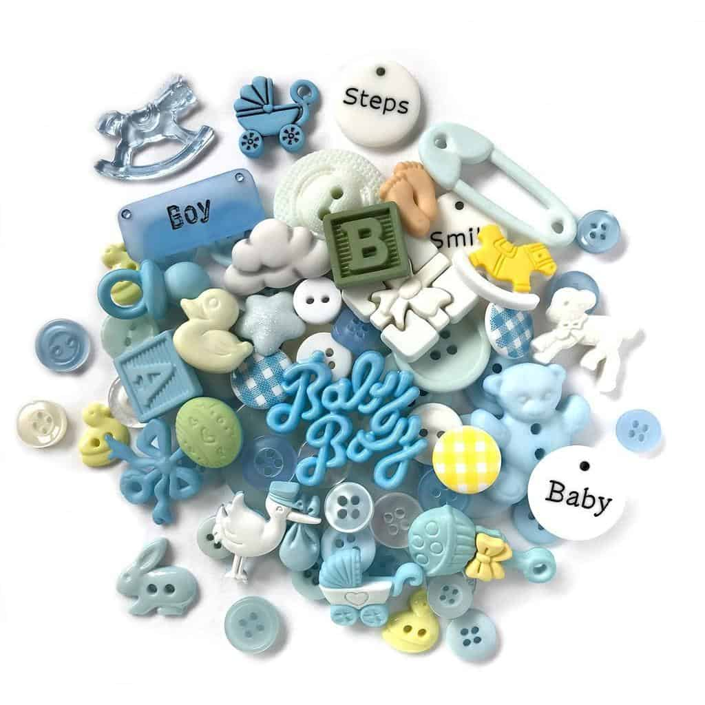 Buttons Galore Value Pack - Baby Boy
