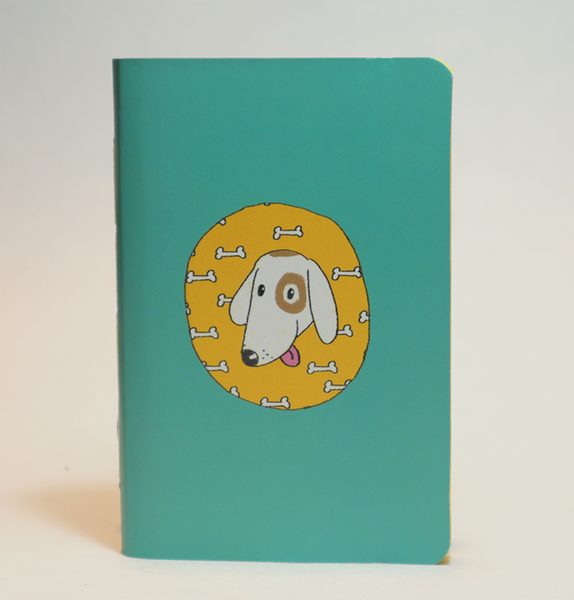Mini Pocket Book | Love Hungry Dog - Little Green Trunk