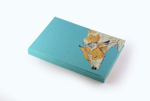 Foxy - Illustrated Cover Journal - Little Green Trunk