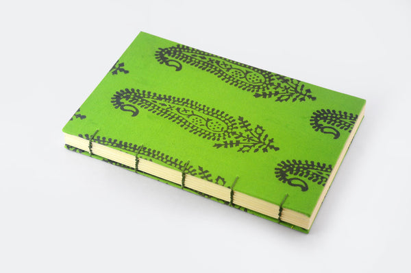Book Block - Green Journal - Little Green Trunk