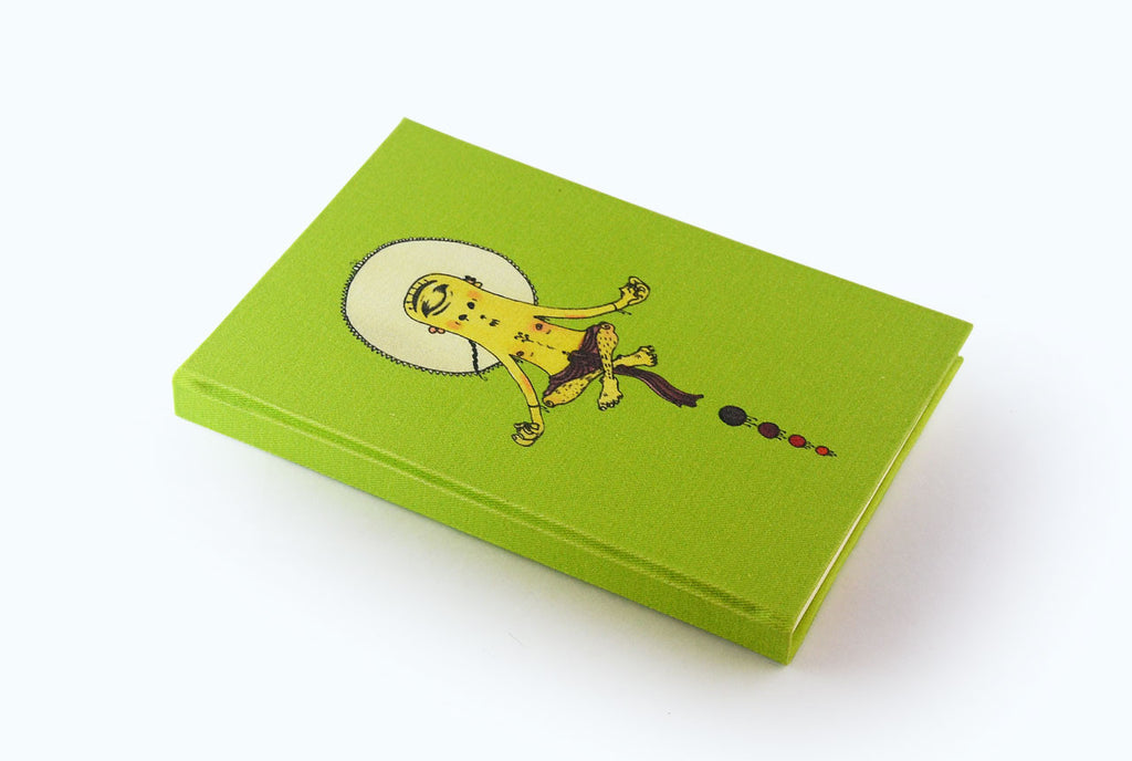 Levitating Monk - Illustrated Cover Journal - Little Green Trunk