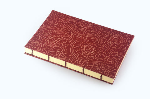 Book Block - Maroon Journal - Little Green Trunk