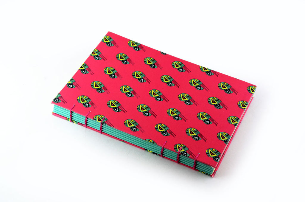 Skull Pattern Journal - Little Green Trunk