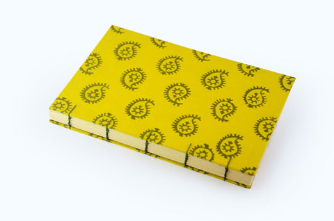 Book Block - Yellow Journal - Little Green Trunk