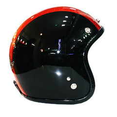 590 Orange Black Metal Flake Helmet - BUY CUSTOM HELMETS