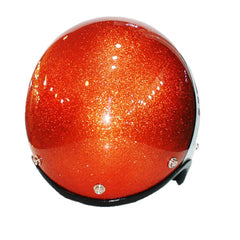 619 3 Tone Metal Flake Work Trike Helmet - BUY CUSTOM HELMETS