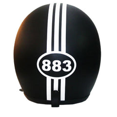 883 Matte Black Hand Paint Helmet - BUY CUSTOM HELMETS