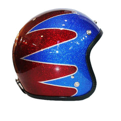 All American Colors Retro Paint Helmet - BUY CUSTOM HELMETS