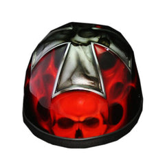 3D Iron Cross Free Hand Paint Airbrush Half Cap Beanie Helmet - BUY CUSTOM HELMETS