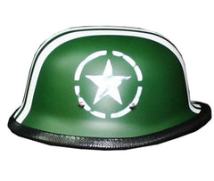 45 Solo Army Green Hand Paint German Helmet - BUY CUSTOM HELMETS