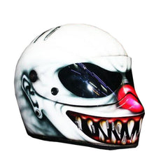American Nightmare 3 Full Face Crash Airbrush Custom Motorcycle Helmet DOT/ECE Approved - BUY CUSTOM HELMETS
