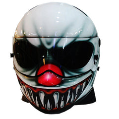 American Nightmare 45 Full Face Crash Airbrush Custom Motorcycle Helmet DOT/ECE Approved - BUY CUSTOM HELMETS