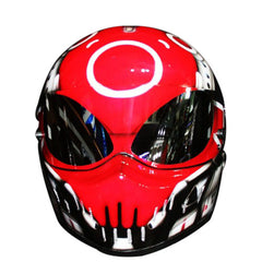 Bone Head Icon Custom Motorcycle Helmet DOT/ECE Approved - BUY CUSTOM HELMETS