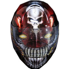 Cyborg 2 Full Face Crash Airbrush Custom Motorcycle Helmet DOT/ECE Approved - BUY CUSTOM HELMETS
