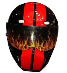 Dodge SRT DRAG Full Face Crash Airbrush Custom Motorcycle Helmet DOT/ECE Approved - BUY CUSTOM HELMETS