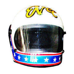 Evel Knievel Jubilee Full Face Crash AirbrushCustom Motorcycle Helmet DOT/ECE Approved - BUY CUSTOM HELMETS