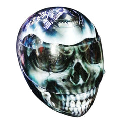 Grim The Reaper The Ghost Rider Custom Motorcycle Helmet DOT/ECE Approved - BUY CUSTOM HELMETS