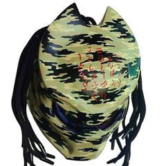 Preditor Motorcyle Helment Army Camouflage Alien Custom DOT/ECE Approved - BUY CUSTOM HELMETS