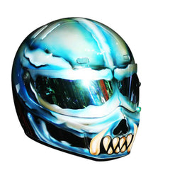 Monster Of Noah Lake Custom Motorcycle Helmet DOT/ECE Approved - BUY CUSTOM HELMETS