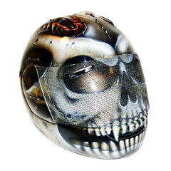 Mr Brown Custom Motorcycle Helmet DOT/ECE Approved - BUY CUSTOM HELMETS