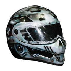 Robocob Avenger Full Face Crash Airbrush Custom Motorcycle Helmet DOT/ECE Approved - BUY CUSTOM HELMETS