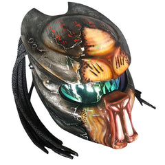 Predator Berserker Motorcycle Helmet Alien Custom DOT/ECE Approved - BUY CUSTOM HELMETS