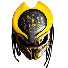 SY20 Alien Custom Predator Motorcycle Helmet DOT/ECE Approved - BUY CUSTOM HELMETS