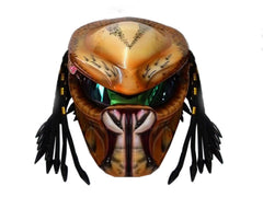 T22 Custom Predator Motorcycle Dot Helmet - BUY CUSTOM HELMETS