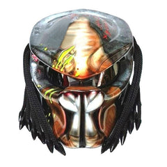 Custom Predator Motorcycle Dot Helmet Airbrush Helmets ATV Men Adult Biker T08 - BUY CUSTOM HELMETS