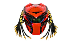 T18 Custom Predator Motorcycle Dot Approved Helmet - BUY CUSTOM HELMETS