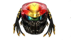 T25 Custom Made Predator Motorcycle Dot Approved Helmet - BUY CUSTOM HELMETS