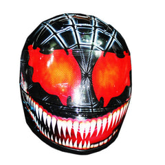 Custom Joker Carnage Motorcycle Helmet Full Face Crash Airbrush  DOT/ECE Approved - BUY CUSTOM HELMETS