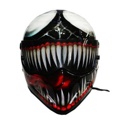 Custom Joker Carnage Motorcycle Helmet DOT/ECE Approved - BUY CUSTOM HELMETS
