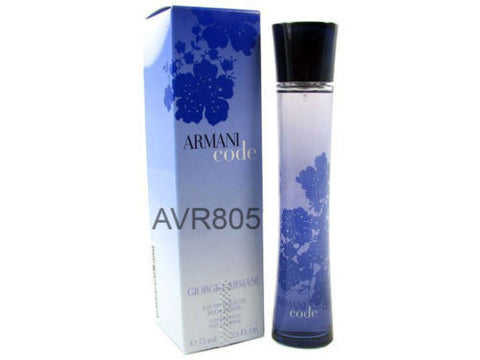Armani Code EDT Spray for Women 75ml Tester