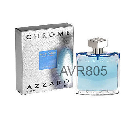 Azzaro Chrome EDT Spray Men 100ml Tester