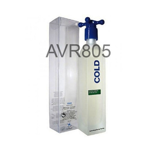 Benetton Cold 100ml EDT Spray for Men (Old Packaging, Tester Price)