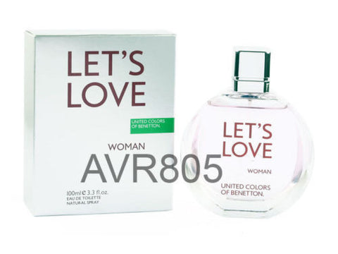 Benetton Let's Love Woman 100ml EDT Spray for Women