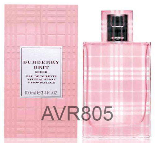 Burberry Brit Sheer EDT Spray for Women 100ml Tester